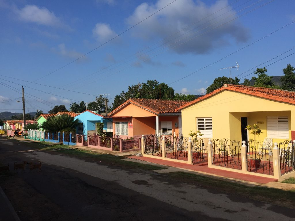 colourful houses in Viñales